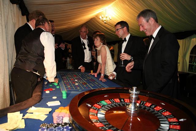 Casino themed venue