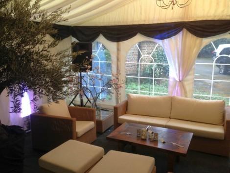 Beautiful inside lounge area