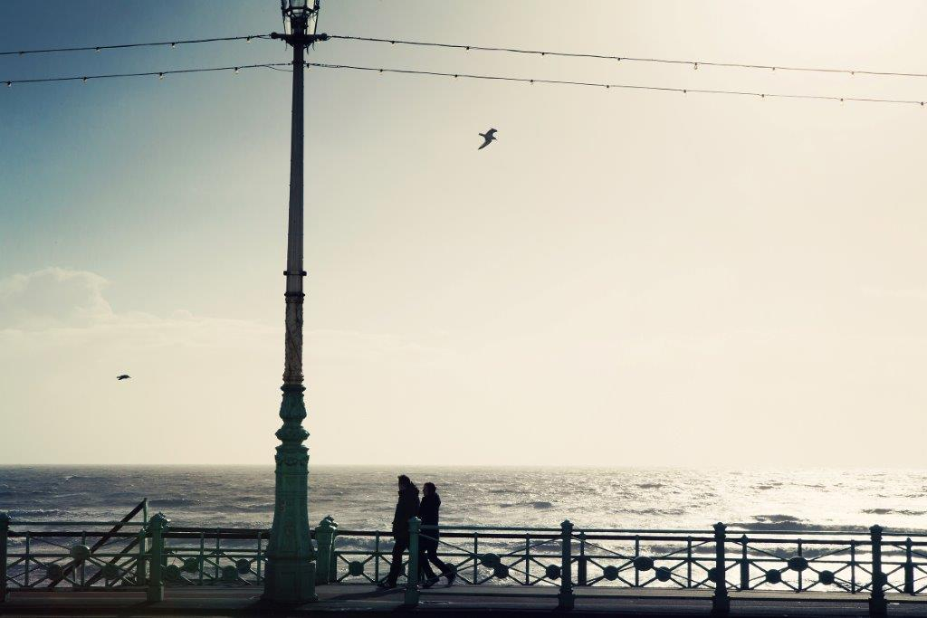 By the seaside