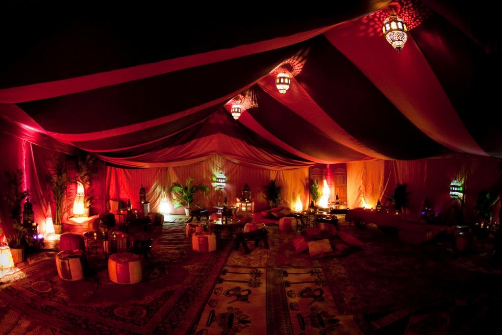 Bedouin style tent