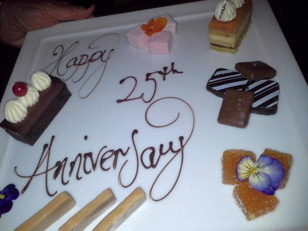Cake at Claridges