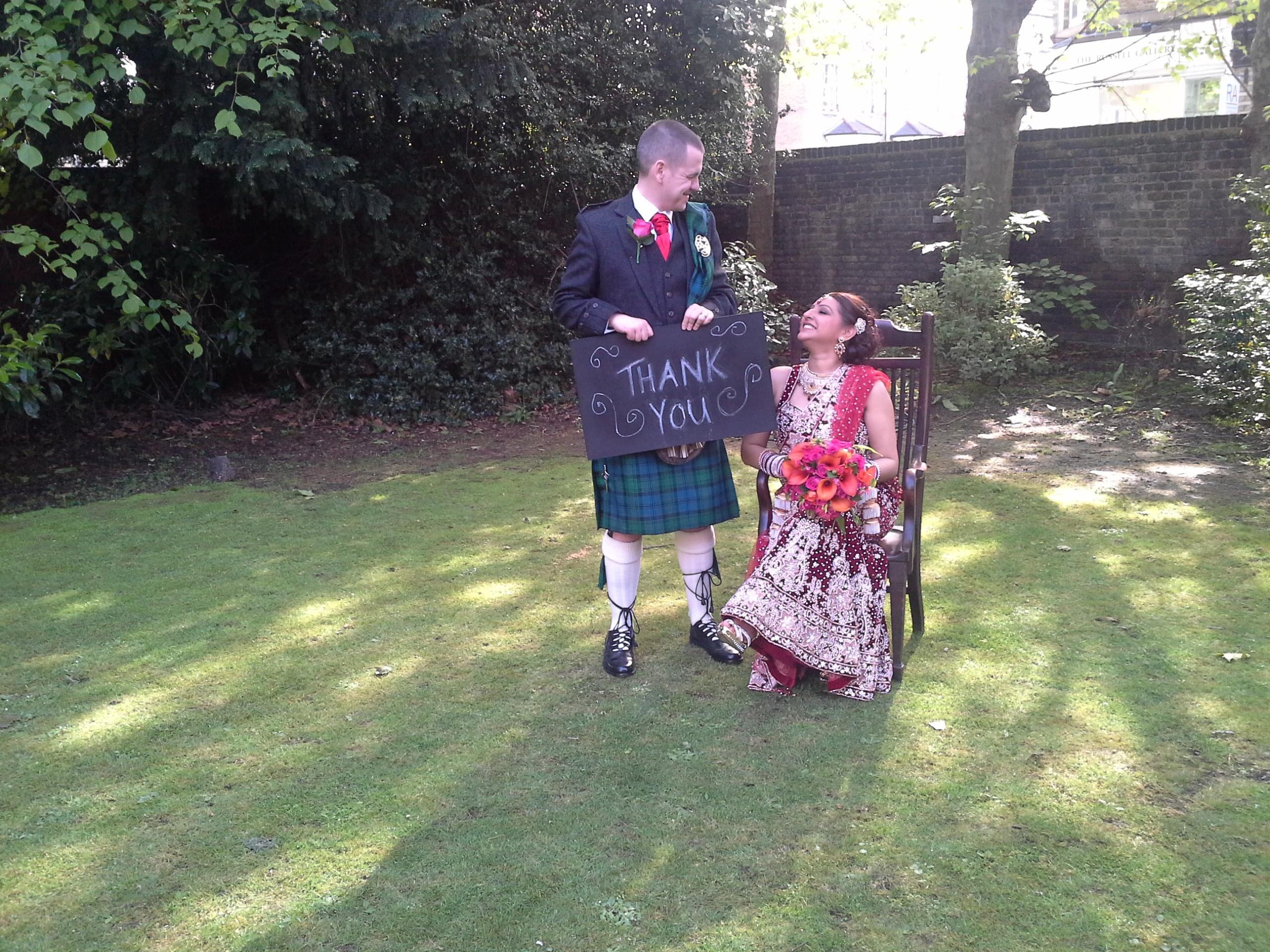 Gary and Chan's wedding