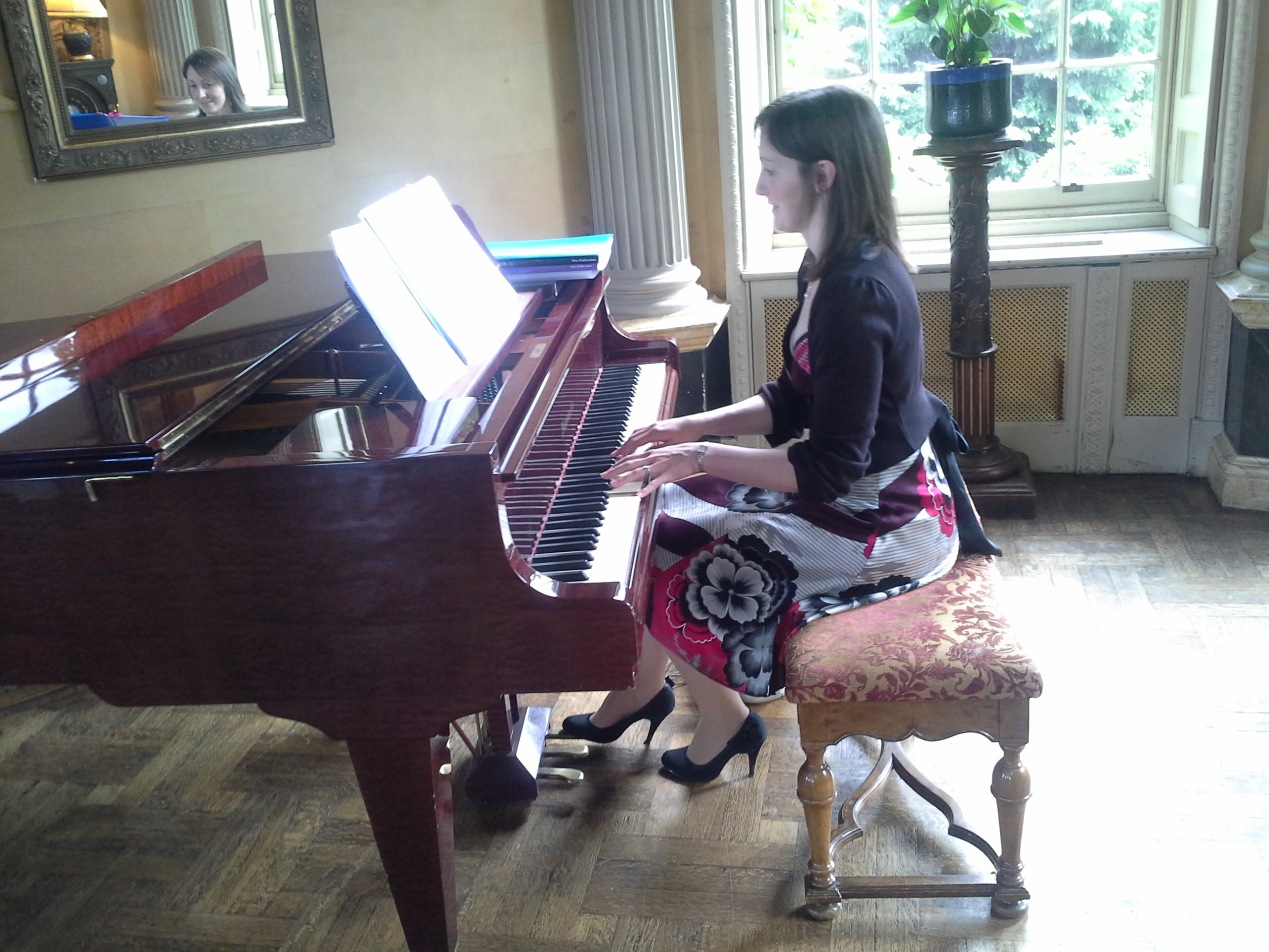 Our fab pianist!