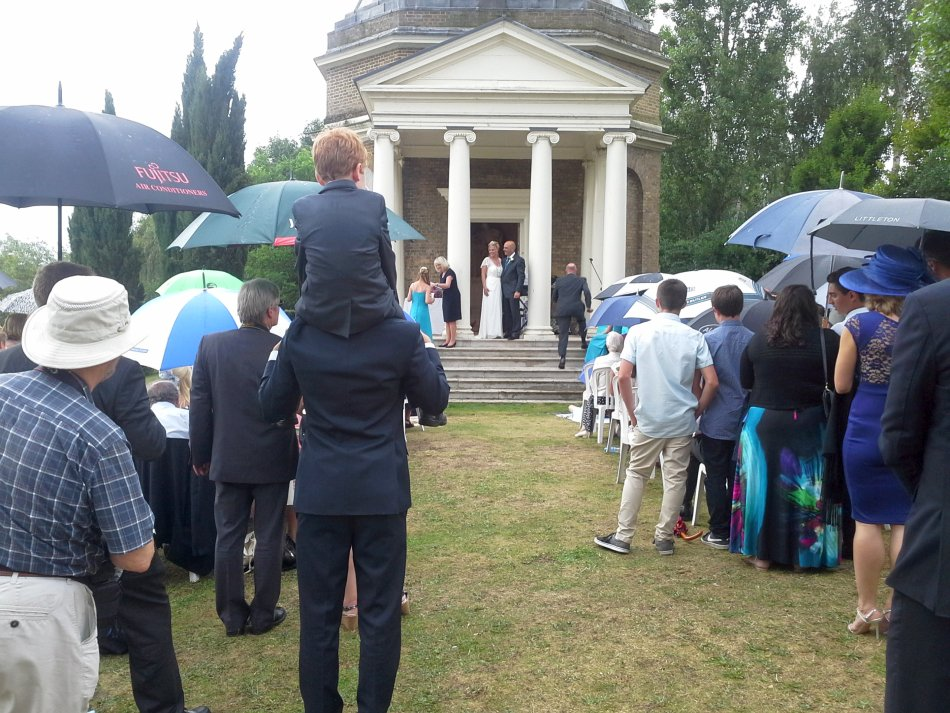 Sandra and Nicks Wedding not even the rain could dampen their wonderful day
