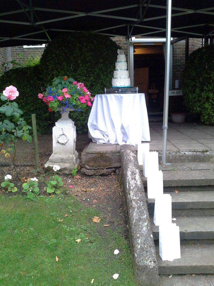 Winchester House Wedding Cake