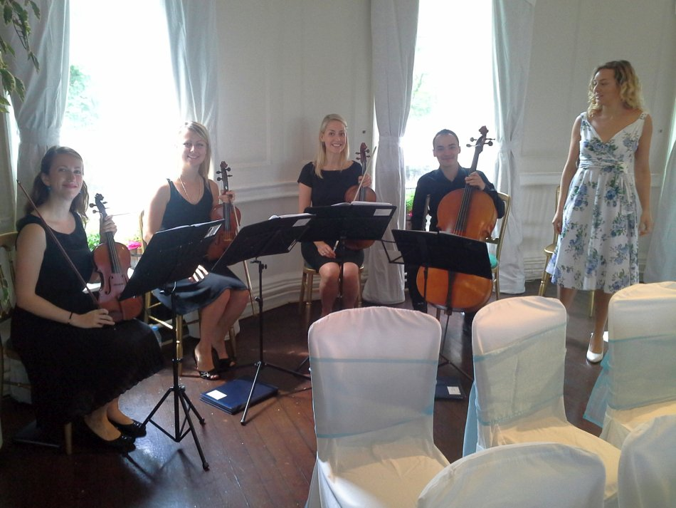 Winchester House Wedding String Band