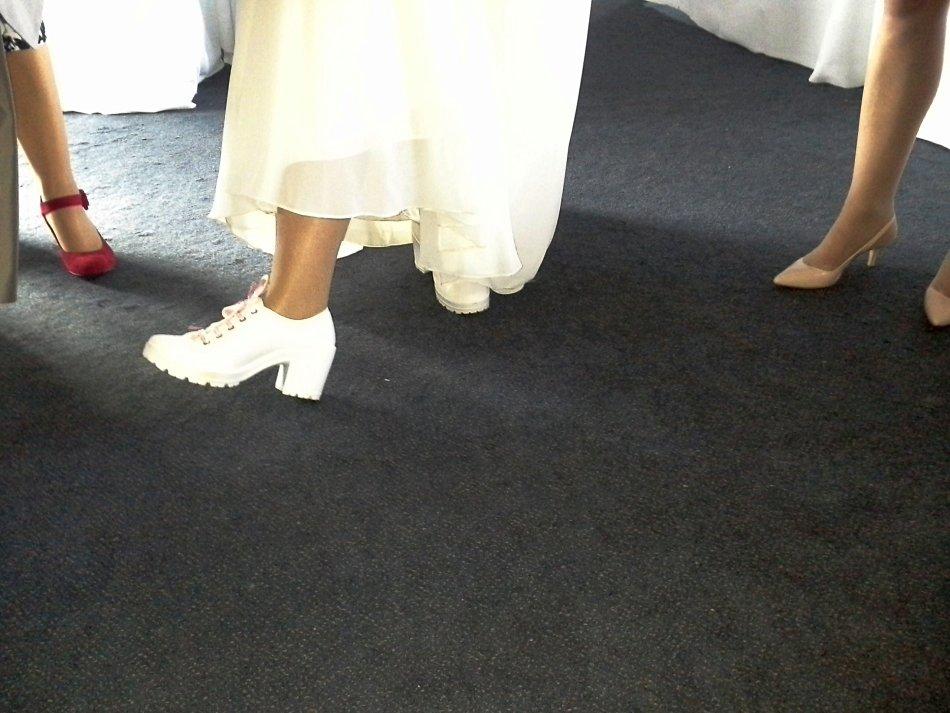 Brides sexy shoes