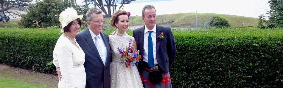 David and Marie's Scottish Wedding