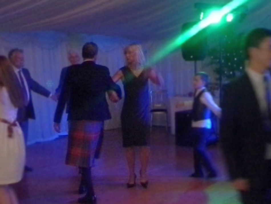 Even Jenny had a dance