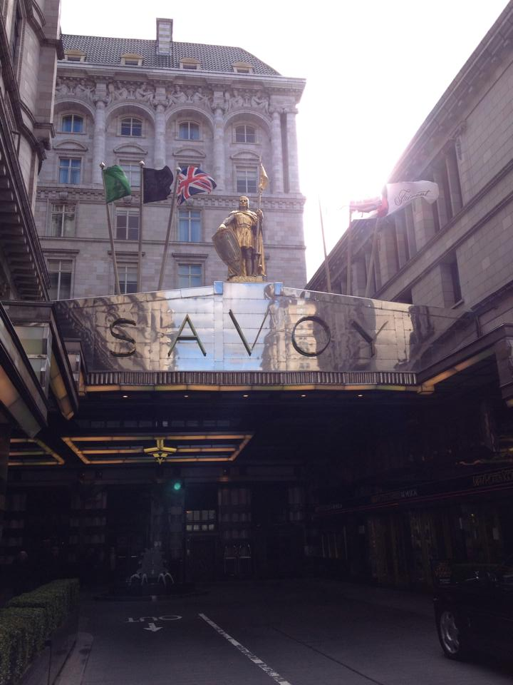 African Revival Charity Ball at the Savoy - Outside