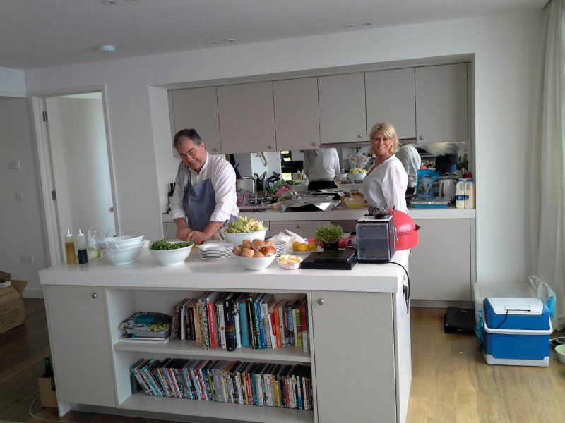 Janets 70th Birthday Lunch - Fab Chefs
