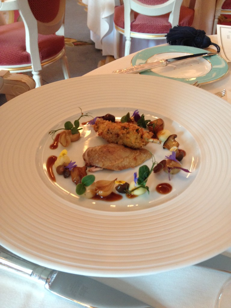 Food at The Ritz 6