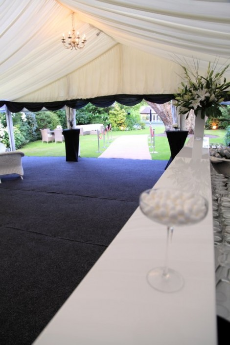 This was a FAB 60th Birthday party in a marquee