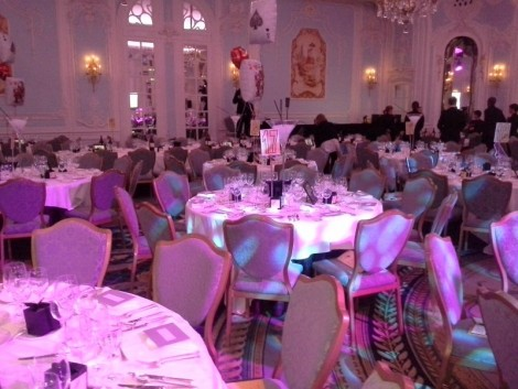 African revival ball at the Savoy Hotel