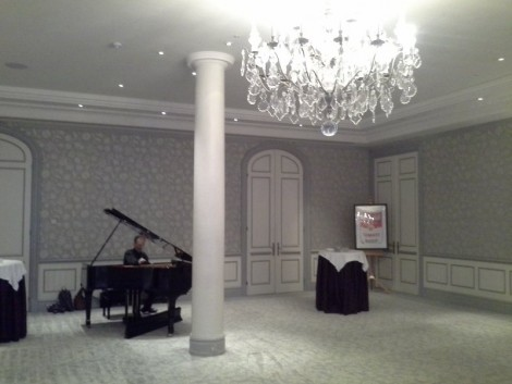 Piano at Drinks Reception